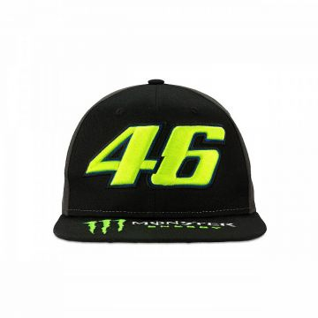 VR46 Cap Rossi Monster Dual Black
