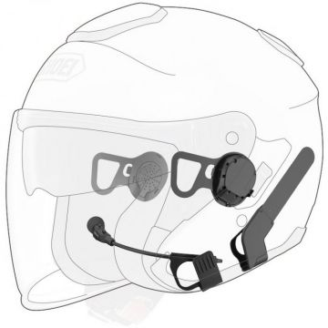 10u bt headset, shoei j-cruise