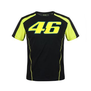 VR46 T'shirt Race Black