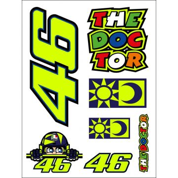 VR46 Sticker Set Small