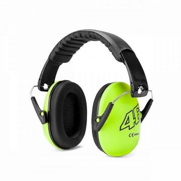 VR46 Ear Muff Kids Yellow