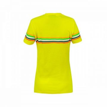 VR46 T'shirt Lady Rossi Stripe