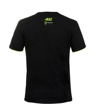 VR46 T'shirt Monster Monza Black
