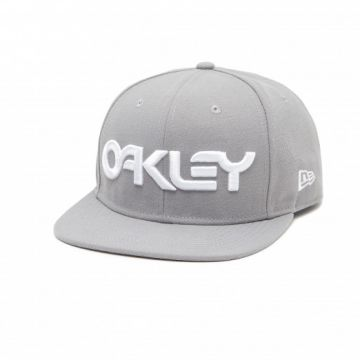 Cap Oakley Mark II Novelty Snap-Back Stone Grey