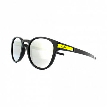 Zonnebril Oakley Latch Valentino Rossi - Chrome Irridium lens