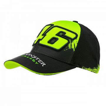VR46 Cap Rossi Monster repl Black