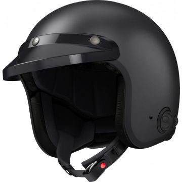 SAVAGE BLUETOOTH HELMET MATT BLACK M